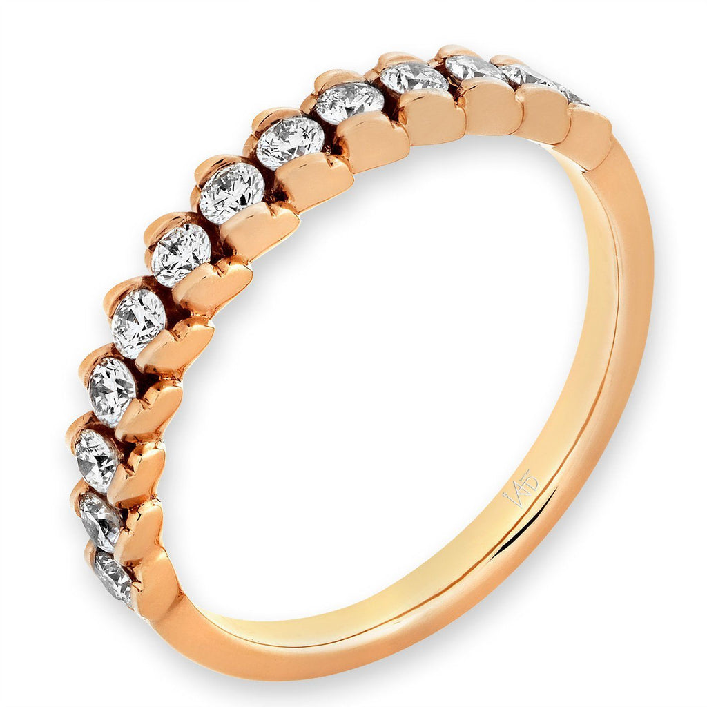 18k Rose Gold Ring with Diamonds (0.351ct) Ring Olivia Davenport Fine Jewels