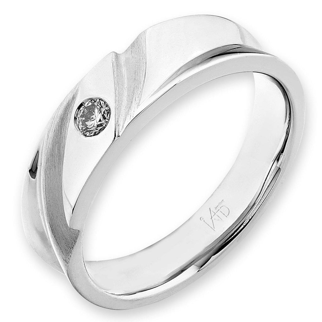 18k White Gold Ring with Diamonds (0.084ct) Ring Olivia Davenport Fine Jewels