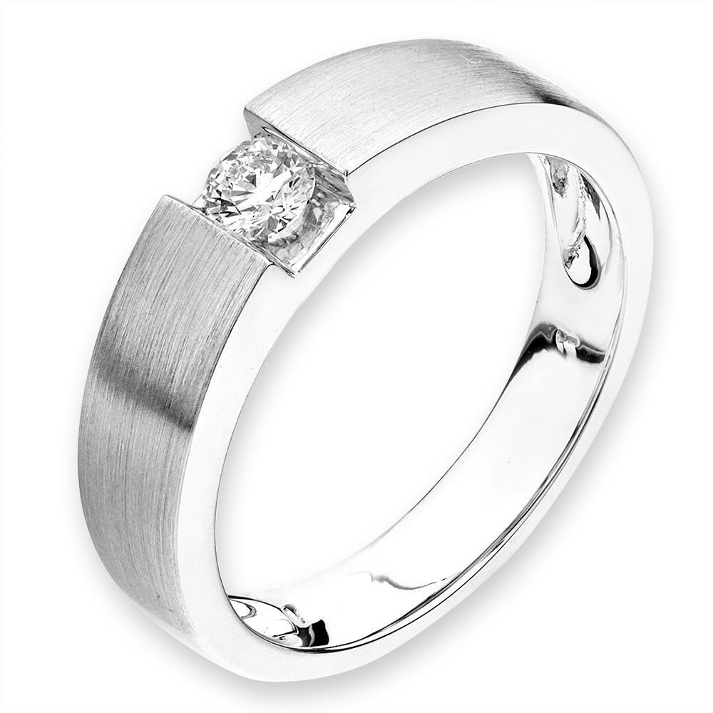 18k White Gold Ring with Diamonds (0.152ct) Ring Olivia Davenport Fine Jewels