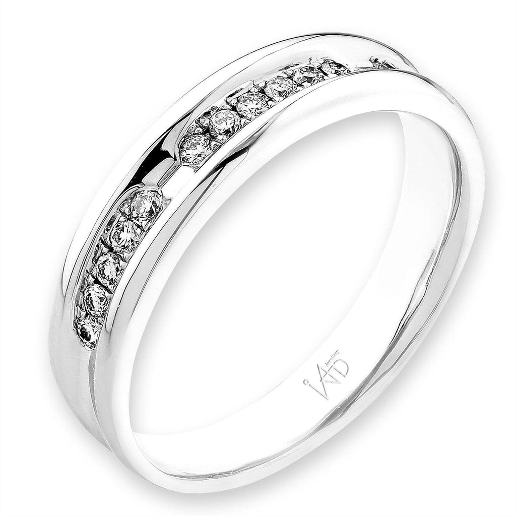18k White Gold Ring with Diamonds (0.156ct) Ring Olivia Davenport Fine Jewels
