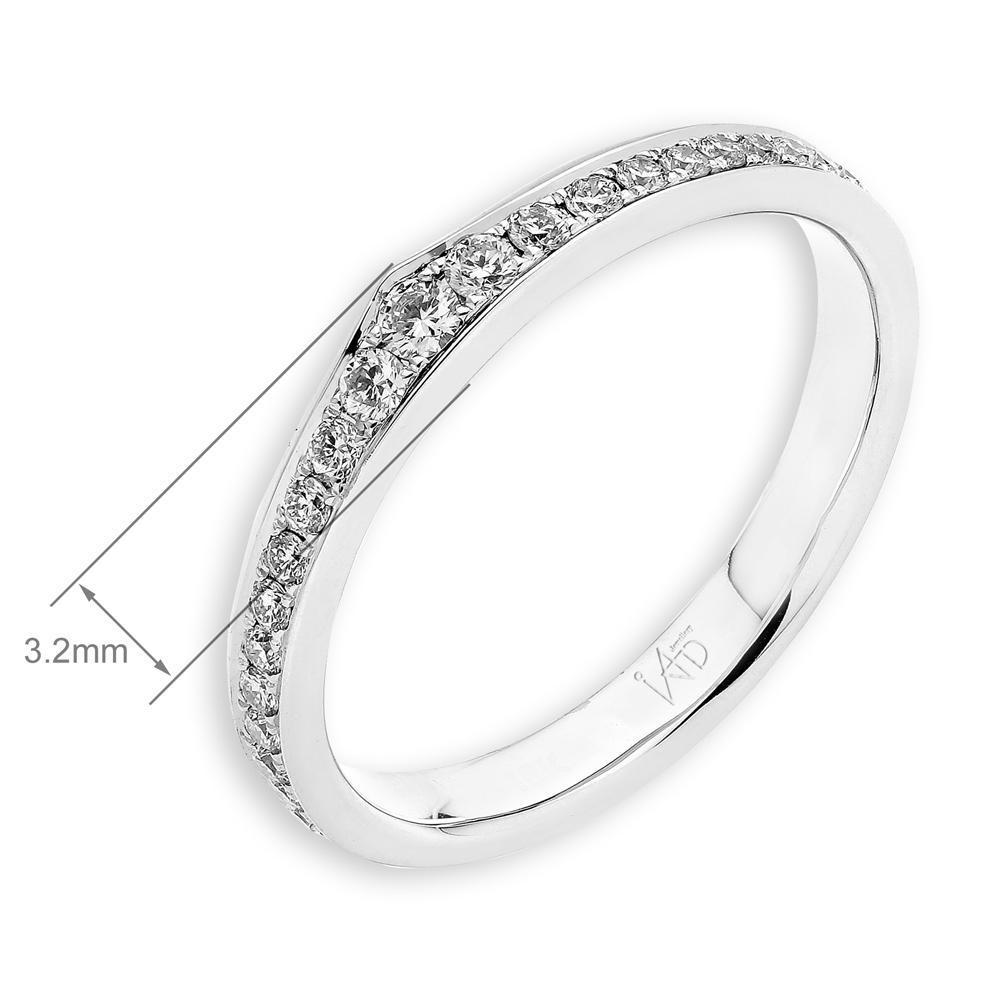 18k White Gold Ring with Diamonds (0.225ct) Ring IAD