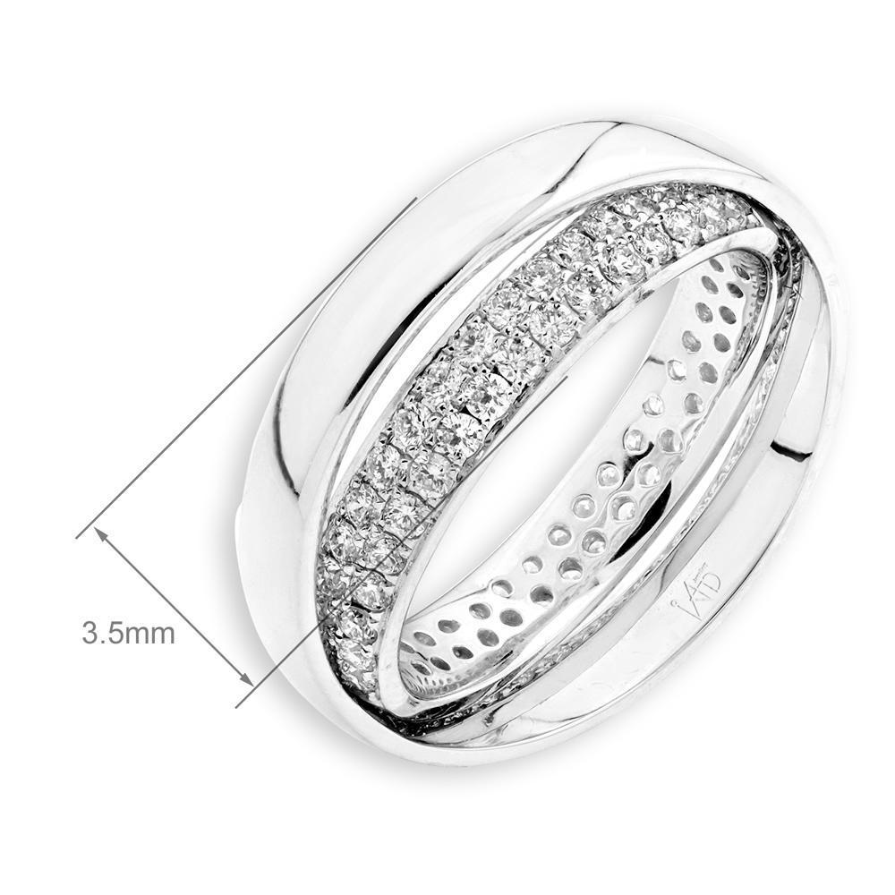 18k White Gold Ring with Diamonds (0.717ct) Ring Olivia Davenport Fine Jewels