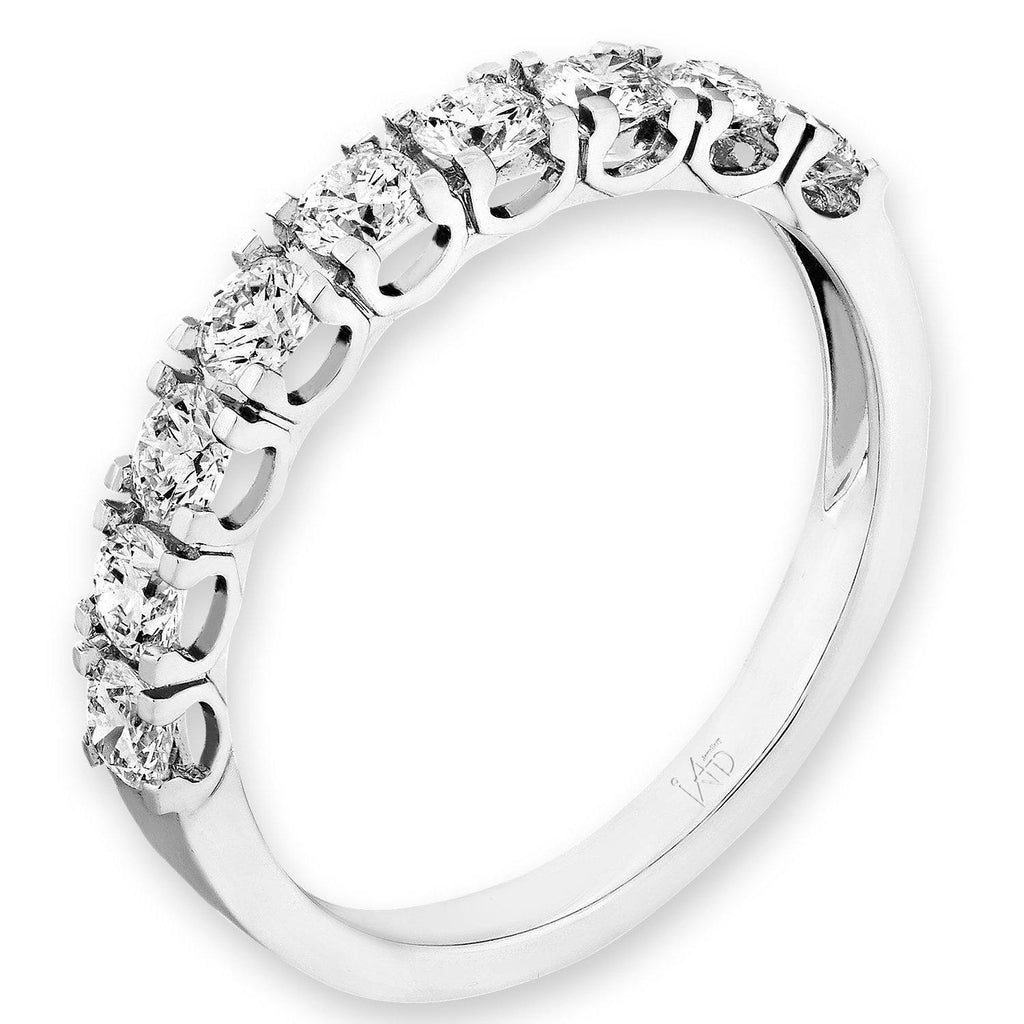 18k White Gold Ring with Diamonds (0.73ct) Ring Olivia Davenport Fine Jewels