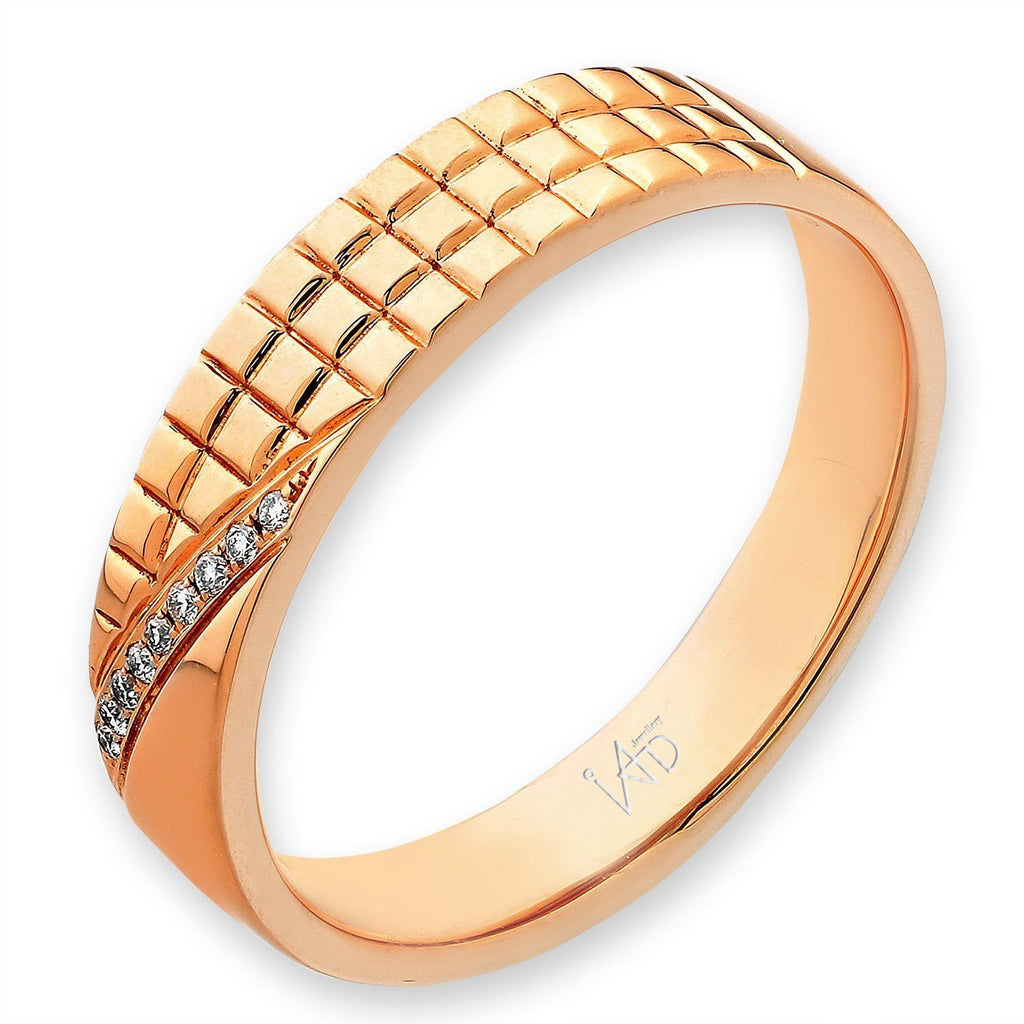 18k Yellow Gold Ring with Diamonds (0.023ct) Ring Olivia Davenport Fine Jewels
