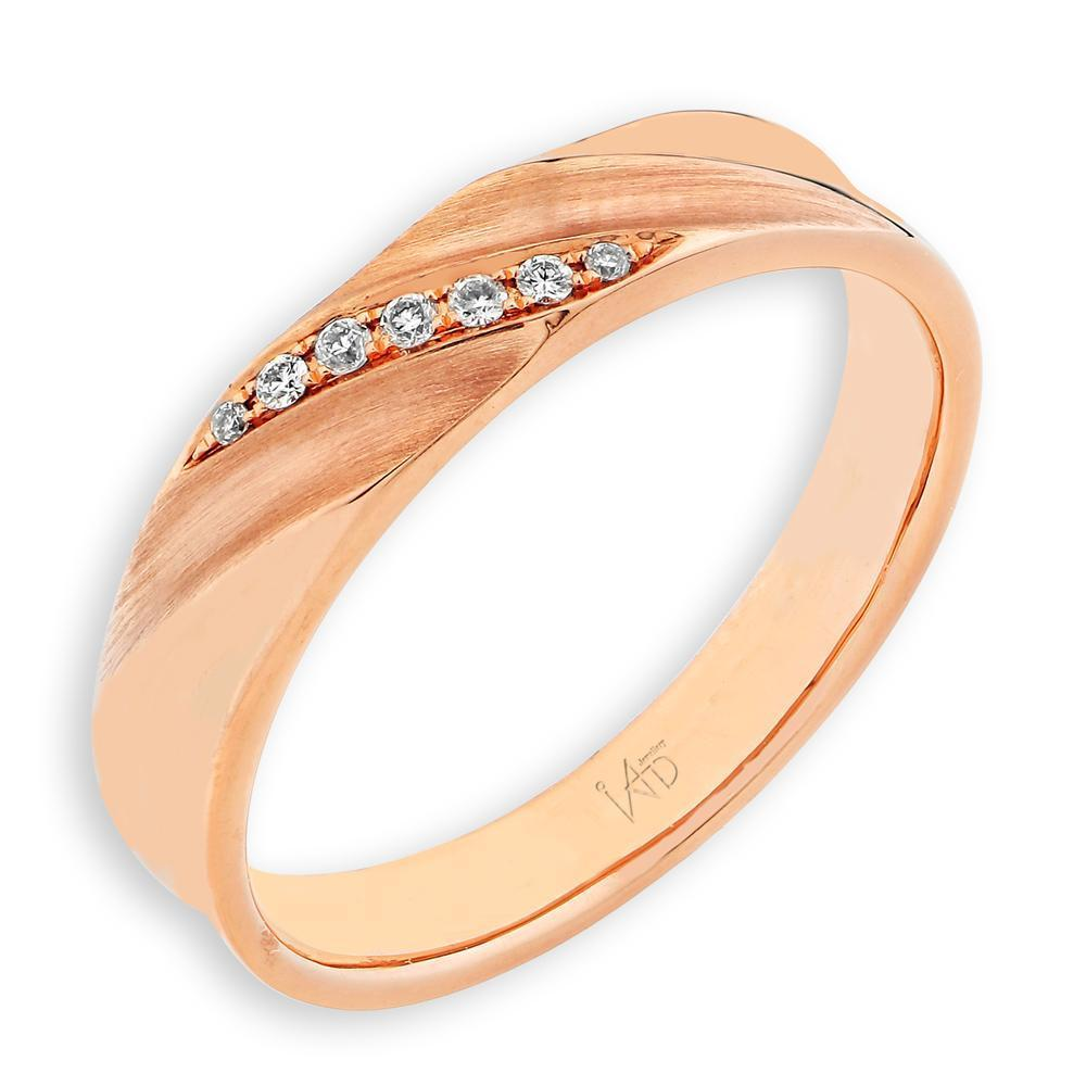 18k Yellow Gold Ring with Diamonds (0.033ct) Ring Olivia Davenport Fine Jewels