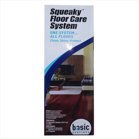 SQUEAKY FLOOR CARE SYSTEM