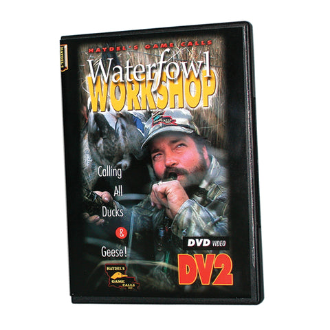 DVD 2 DD Waterfowl Workshop - Digital Download