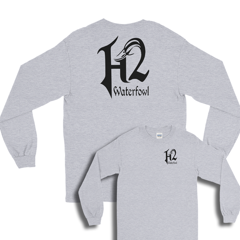 H2LS-16 H2 Dri Fit  Performance Long Sleeve Shirt