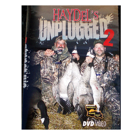 "HW4 DVD DD Haydel's on Waterfowl vol.4 ""Unplugged 2"" - Digital Download"
