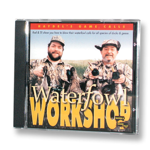 T-01C Waterfowl Workshop CD