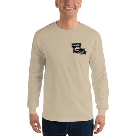 ETLS-16  |  Eli Haydel's Signature Ultra Cotton Long Sleeve Shirt - Tan