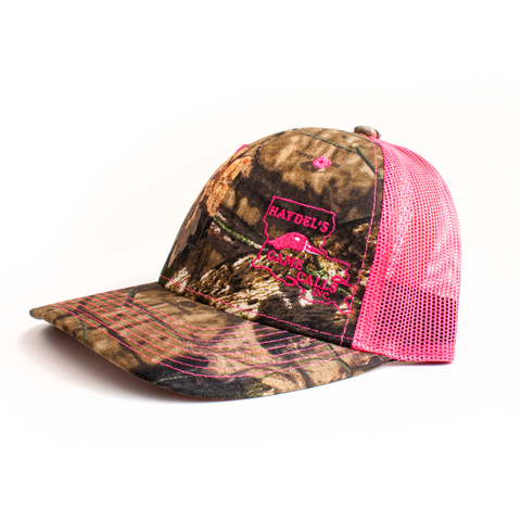 HC-21PC - Ladies Pink Mossy Oak Camo Cap