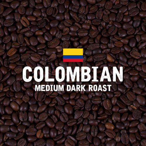 Colombian Medium-Dark Roast Coffee - Single Bag