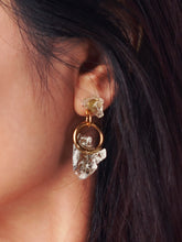 Load image into Gallery viewer, Frozen Loop Earrings