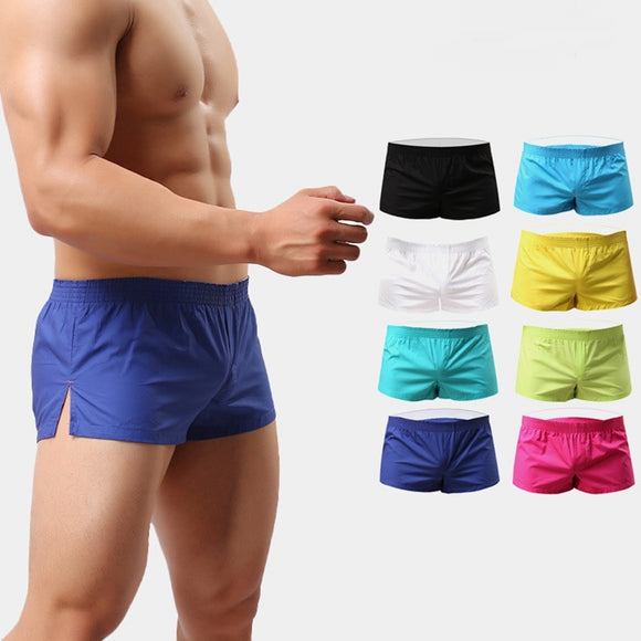 10Pack Brand Sexy Mens Underwear Boxer Shorts Trunks Gay Penis Pouch Home Sleepwear Print Short Panties Underpants  MartLion.com