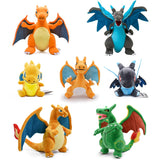 15-33cm Anime Charizard Plush Toys Center Mega Evolution Charizard X Y Soft Stuffed Animal Children Plush Doll Kids Gift  MartLion
