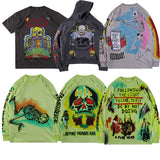 19ss Season 6 Hoodies Men Women1:1top version skull Graffiti Streetwear XXXTentacion Kanye West Hoodie Season 6 swearshirt  MartLion