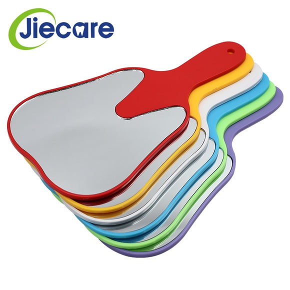 1PC Cute Handle Dental Mirror Tool Unbreakable Patient Hand Mirror Teeth Whitening Tools Free Shipping  MartLion.com