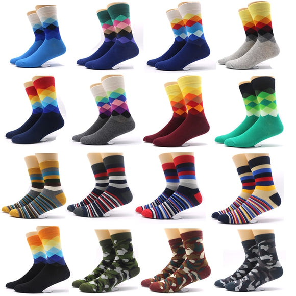 1Pair Fashion Men's Sock Winter Warm Male Crew Socks Meias Masculinas Men Dress Socks for Men Compression Socks Funny Chaussette - Mart Lion  Best shopping website