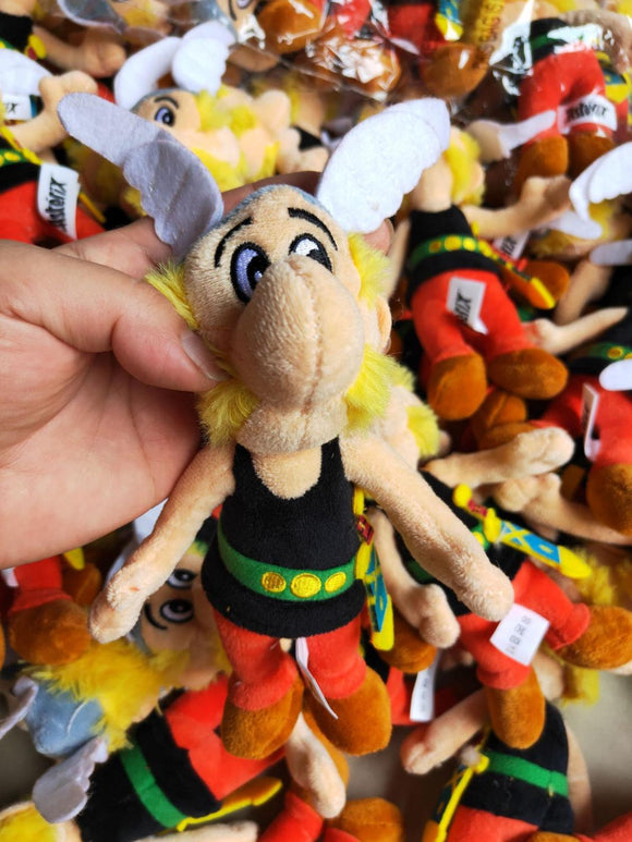 1pcs 18cm Classic France Cartoon The Adventures of Asterix plush toy ascotte Doll Soft Stuffed Toys Kids Childrens Gifts  MartLion