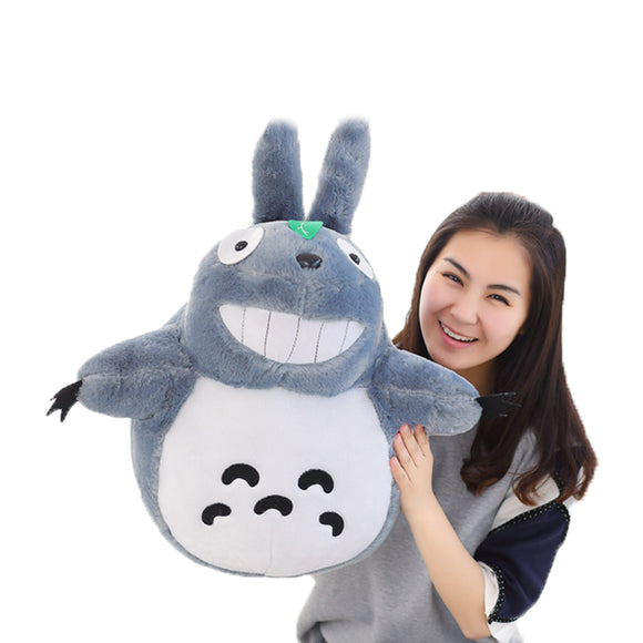 1pcs 50CM Famous Cartoon Totoro Plush Toys Smiling Soft Stuffed Toys High Quality Dolls Factory Price home decoration gift  MartLion.com