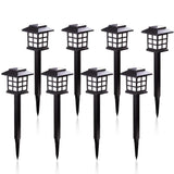 2/4/6/8pcs led Solar Pathway Lights Waterproof Outdoor Solar Lights for Garden/Landscape/Path/Yard/Patio/Driveway/Walkway  MartLion