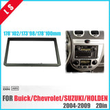 2 Din Radio Fascia for Buick Excelle Chevrolet Lacetti Nubira Optra Aveo Suzuki Forenza Verona Stereo Panel Surrounded Frame , 2  MartLion.com