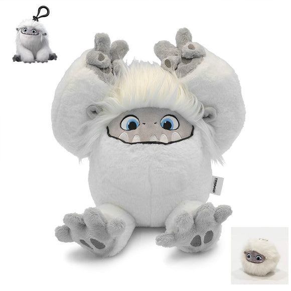20/26/37/60cm Abominable Snowman Plush Toy Yeti Monsters Doll Pillow Soft Kawaii Stuffed Children Girls Christmas Gift  MartLion