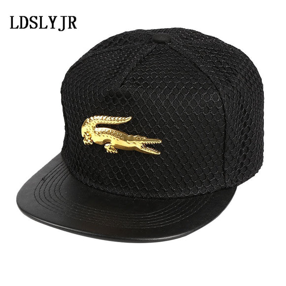 2018 acrylic Metal Cross superman batman Crocodile Baseball Cap hip-hop cap Adjustable Snapback Hats for men and women - Mart Lion  Best shopping website