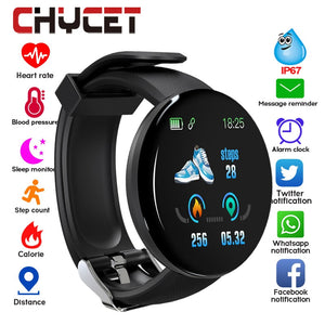 2019 Bluetooth Smart Watch Men Blood Pressure Round Smartwatch Women Watch Waterproof Sport Tracker WhatsApp For Android Ios - Mart Lion  Best shopping website