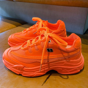 2019 Harajuku Women's Chunky Sneakers Tenis Basket Women Casual Platform Shoes Ulzzang Dad Shoes High Top Sneakers Zapatos Mujer - Mart Lion  Best shopping website
