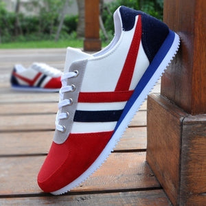 2019 New Men Casual Shoes Lac-up Men Shoes Lightweight Comfortable Breathable Walking Sneakers Tenis Feminino Zapatos Male Shoes  MartLion