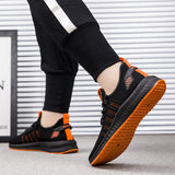 2019 New Men Sneakers Mesh Casual Shoes Lac-up Shoes Men Lightweight Comfortable Breathable Walking Sneakers Zapatillas Hombre  MartLion