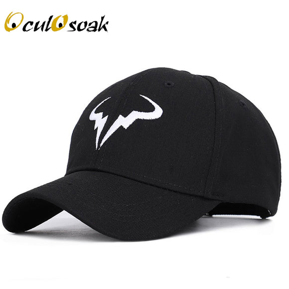 2019 New fashion Rafael Nadal Baseball Cap Tennis Player No Structure Dad Hat Men Women adjustable Snapback Caps bone Embroidery - Mart Lion  Best shopping website