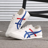 2019 Spring Autumn New Couple Shoes Canvas Shoes Ghosts Tigers Men Women  The Same Paragraph Casual White Shoes Running Shoes - Mart Lion  Best shopping website