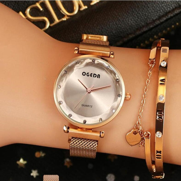 2019 Women Watches Women Fashion Watch Geneva Designer Ladies Watch Luxury Brand Diamond Quartz Gold Wrist Watch Gifts For Women  MartLion.com