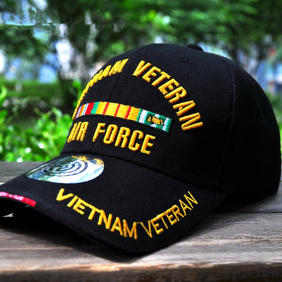 2019 new VIETNAM VETERAN embroidery baseball cap men women 100%cotton hats outdoor fashion Shade caps Adjustable tactical hat  MartLion