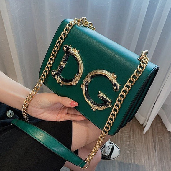 2020 Famous Brand Ladies Luxury Leather Handbags Purse Chain Shoulder Bags Luxury Designer Women Crossbody Bag Bolsa DG Sac Luxe  MartLion
