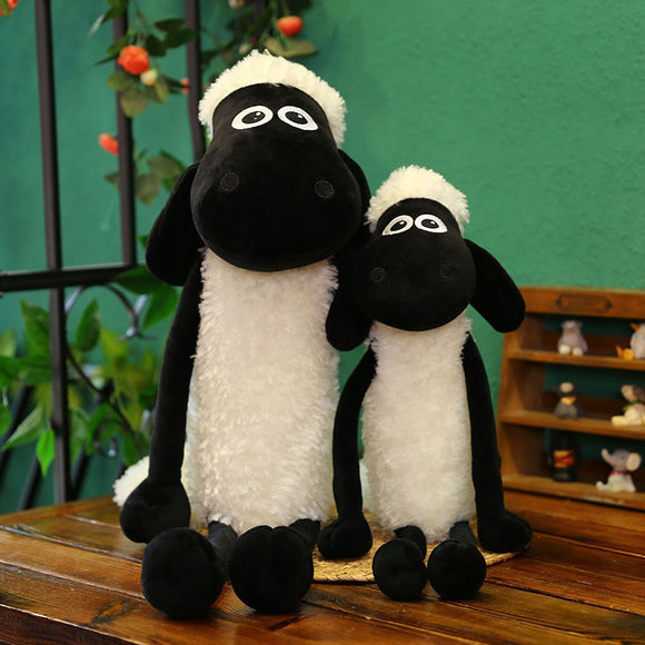2020 New Cartoon Sheep Anime Movie Plush Doll Toy Stuffed Animal Kawaii Sheep Pillow Gift For Children Baby Accompany Toys  MartLion