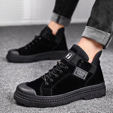 2020 Winter Men's Boots Warm PU Leather Male Waterproof Shoes Chaussure Mans Casual Shoes For Men Boots Footwear Male Sneakers  MartLion