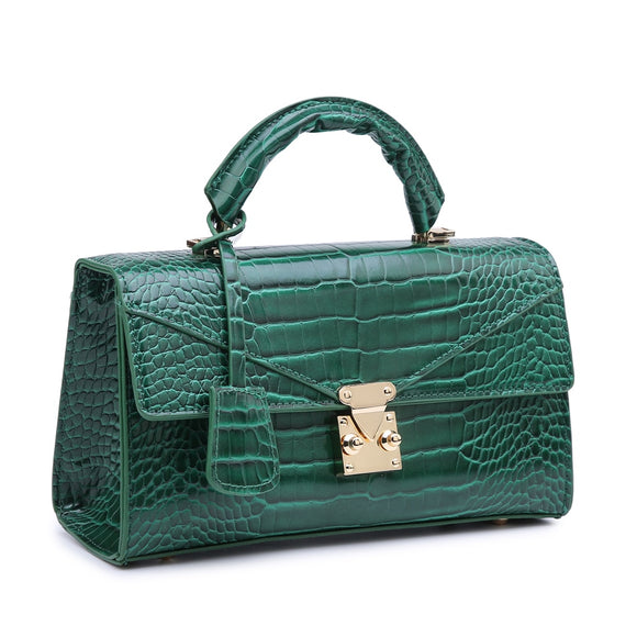 2021 Fashion Crocodile Handbags for Women Ladies Elegant Shoulder Bags Lxuury Messenger Tote Bags