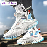 2021 Spring New Large Size 39-46 Size Men's Shoes High-top Knife Edge Lightweight Sneakers Increase Casual Shoes Men Shoes  MartLion