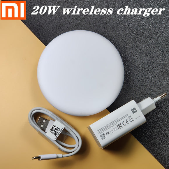 20W Xiaomi Wireless Charger 27W EU MI fast charger For xiaomi 9 mi9 9t cc Redmi note 8 pro k20 for iphone /samsung galaxy s8 s9