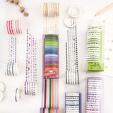 20pcs/pack Multi-color Washi Tape Scrapbooking Decorative Adhesive Tapes Paper Japanese Stationery Sticker  MartLion.com