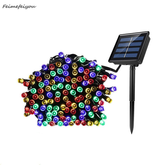 22 M 200LED Solar Fairy Lights String Waterproof Solar Power Light Outdoor Garden LED Holiday Decoration
