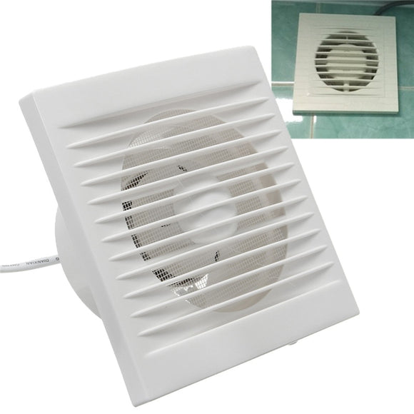 220V Hanging Wall White Ventilador Small Ventilator Extractor Exhaust Fans Toilet Bathroom Kitchen Fan Hole Size 110x110mm 40W - Mart Lion  Best shopping website