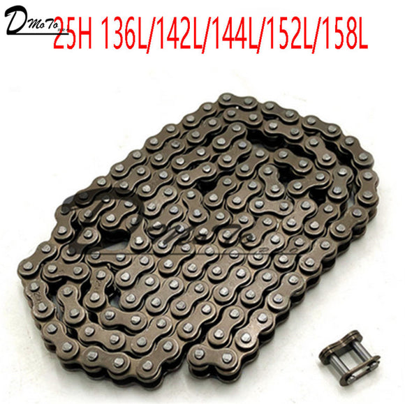 25H chain with Spare Master Link 47cc 49cc 2 Stroke Engine ATV Quad Go Kart Dirt Pocket Mini Motor Bike Motorcycle  section144 - Mart Lion  Best shopping website