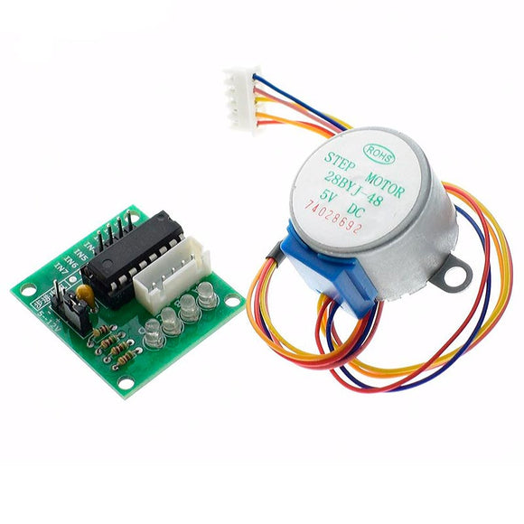 28BYJ-48-5V 4 phase Stepper Motor+ ULN2003 Driver Board 28BY-48 Reduction Step Motor for arduino DIY kit  MartLion