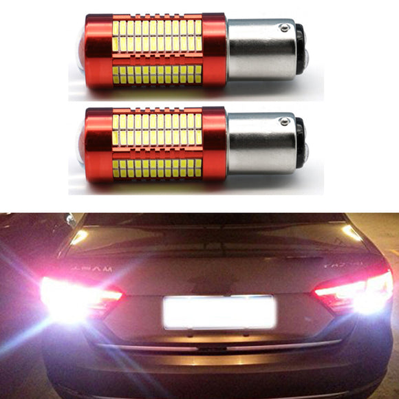 2PCs Super Bright White BAY15D Ba15s 1156 1157 S25 106smd 4014 Led P21W 30W LED SMD Backup Reverse Led Light Brake Light - Mart Lion  Best shopping website