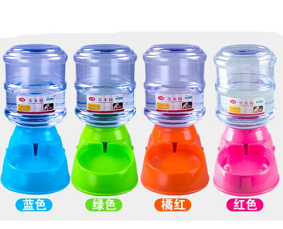3.5L Pet Automatic Feeder Dog Cat Drinking Bowl For Dog Water Drinking Cat Feeding Large Capacity Dispenser Pet Cat Dog  MartLion.com